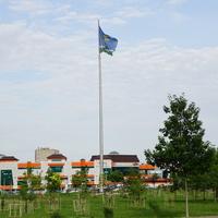 Бульвар Победы, флаг города