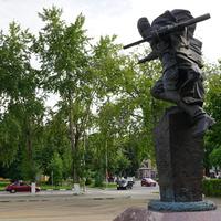 Памятник участникам боевых действий в годы войны