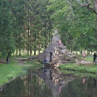 В Екатерининском парке.