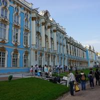 Екатерининский дворец.Фрагмент.