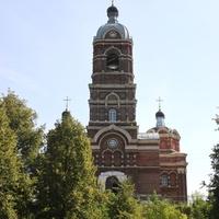 Собор Спаса Преображения, вид с берега Клязьмы