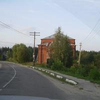 Село Владимирское - На выезде из села