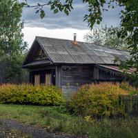 Заброшенный дом в деревне Москва Верхошижемского района
