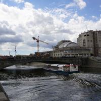 Река Москва, кинотетр Ударник