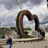 Пешеходный Третьяковский мост