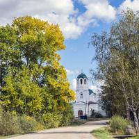Церковь Николая Чудотворца в с. Завертная Советского района