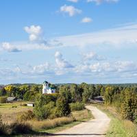 Панорама с. Завертная Советского района