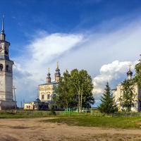 Соборный комплекс в пос. Лальск