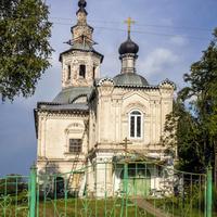 Благовещенская церковь в пос. Лальск.