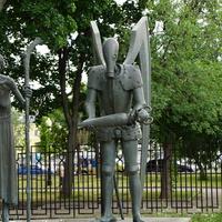 Скульптурная композиция, Война