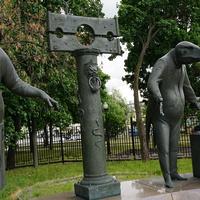 Скульптурная композиция, Беспамятство