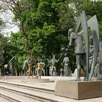 Скульптурная группа Дети – жертвы пороков взрослых