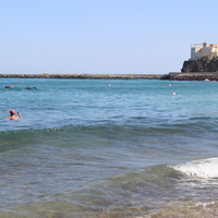 Дибба. Пляж.