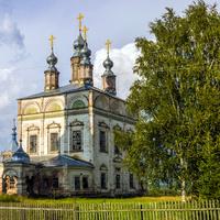 Воскресенский собор в пос. Лальск