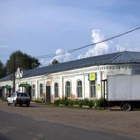 Торговые ряды в пос. Лальск