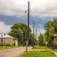 Улица в пос. Лальск