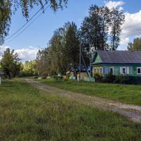 Улица в с. Борок Советского района