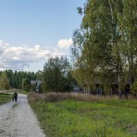 Улица Молодежная в с. Борок Советского района