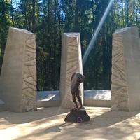территория Катынского мемориала