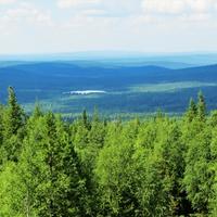 Вид с горы Белой