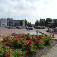 Площадь перед городской ратушей