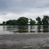 Река Москва в Бронницах