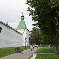 Монастырская стена-крепость, Сушильная башня