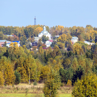 Вид на пос. Кумены Кировской области
