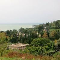 Вид с Афонской горы