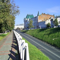 Н. Новгород - У съезда вдоль ул. Пожарского