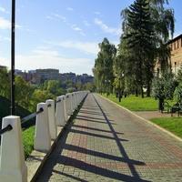 Н. Новгород - Вдоль Кремлёвской стены