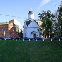 Ул. Пожарского - Храм-часовня в честь Николая Чудотворца