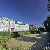 Краеведческий музей. Бывший ров шуйского кремля