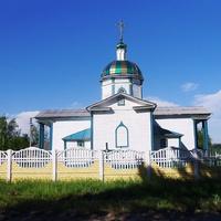 Дерев'яний Свято-Миколаївський храм 1858 р