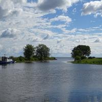 Муствеэ. Река Муствеэ впадающая в Чудское озеро
