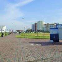 Н. Новгород - Метро «Стрелка» - Вид на ул. Бетанкура