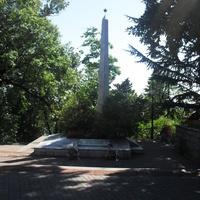 п.Лазаревское, мемориал воинам ВОВ
