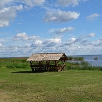 Муствеэ, беседка у озера