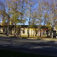 Территория Гатчинского дворца.
