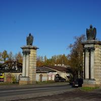 Смоленские ворота.