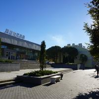 Проспект 25 октября...здание кинотеатра Победа.