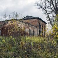 Троицкая церковь в с. Березово Юрьянского района Кировской области