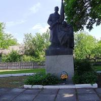 Пам'ятник воїнам-визволителям загиблим в грудні 1943 року під час визволення села Степанки від німецько-фашистських загарбників.