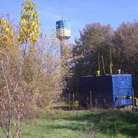 Газорозподільча станція села Залевки та водонапірна вежа.