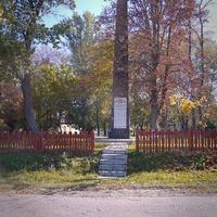 Обеліск односельчанам які загинули в війні 1941-45 років.