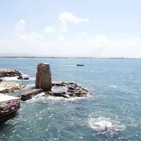 Остатки морской крепости