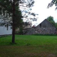 Старинный сарай