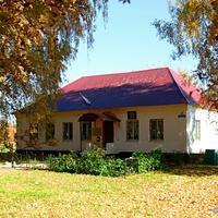 Здание администрации Большеполянского сельского поселения (октябрь 2018).