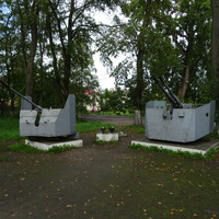 Боевые орудия Второй мировой войны - мемориальный комплекс