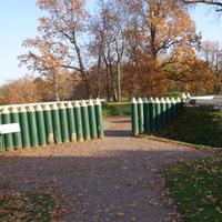 В парке Александрия.Детская крепость.